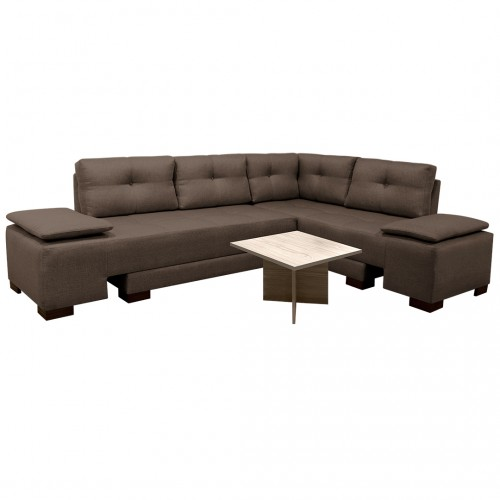 Combo Sala Cama Sterimberg Microfibra + Coffee Table